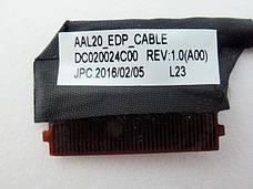 Оригинальный шлейф матрицы Dell Inspiron 15-5000, 5558, 3558, 5555 (30pin AAL20 eDP) - DC020024C00, фото 2