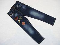 Джинсы слим (узкие; зауженные; slim) для мальчика 3; 4; 5 лет