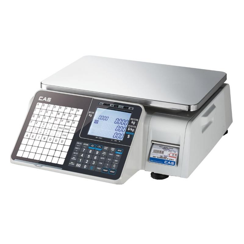 Весы с печатью этикетки CAS CL-3500-J-IB