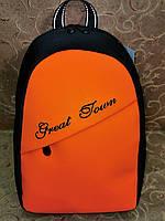 Женский рюкзак GREAT-TOMN искусств. кожа с ткань 1000D  качество городской стильный Популярный только опт, фото 1