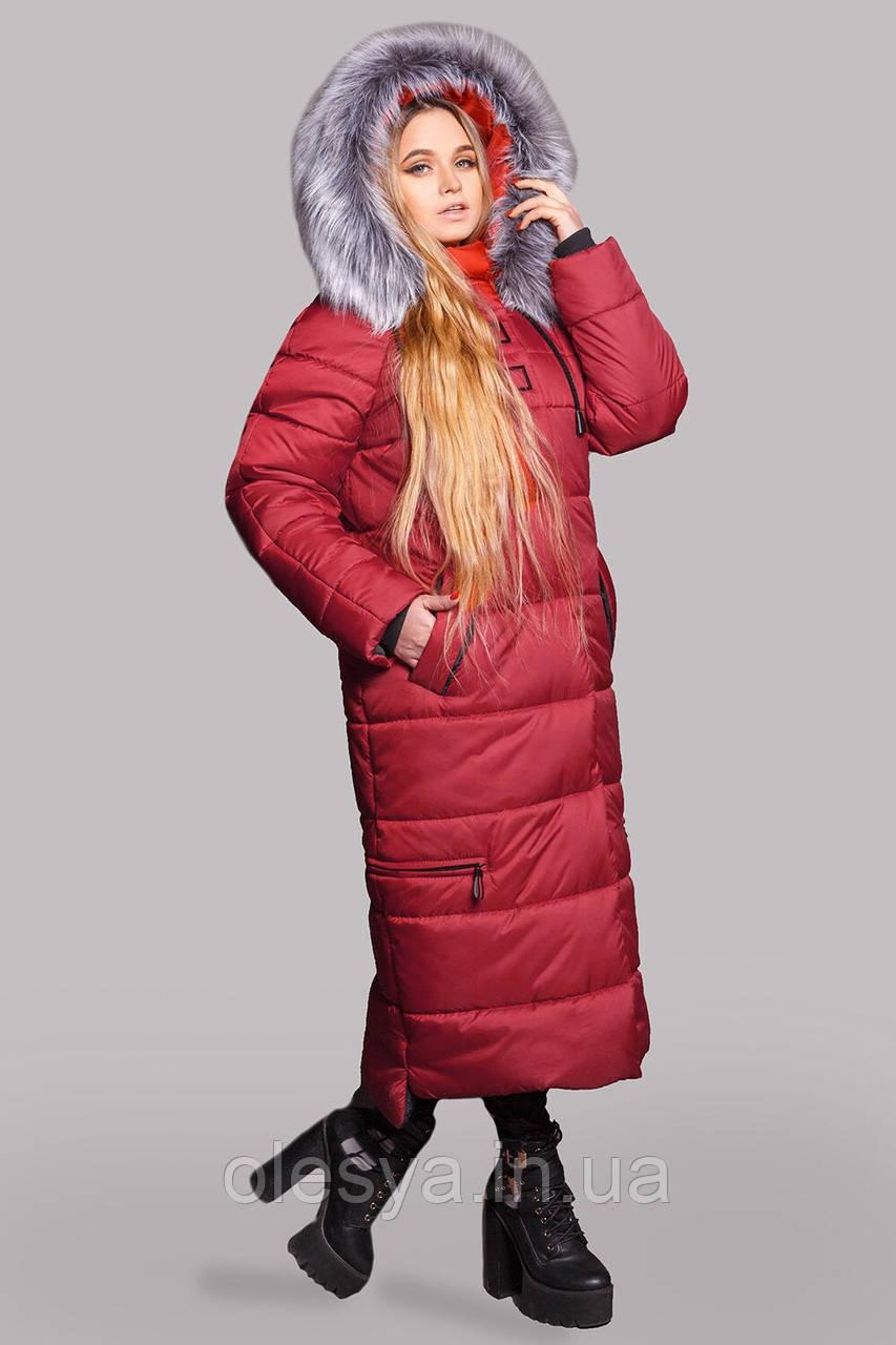 Зимнее женское пальто Барбара размеры 48- 58