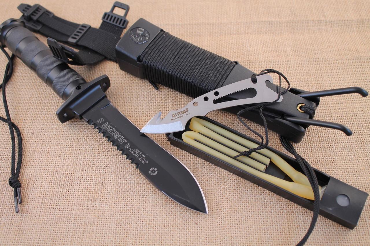Нож выживания Aitor Jungle King II  ( реплика)