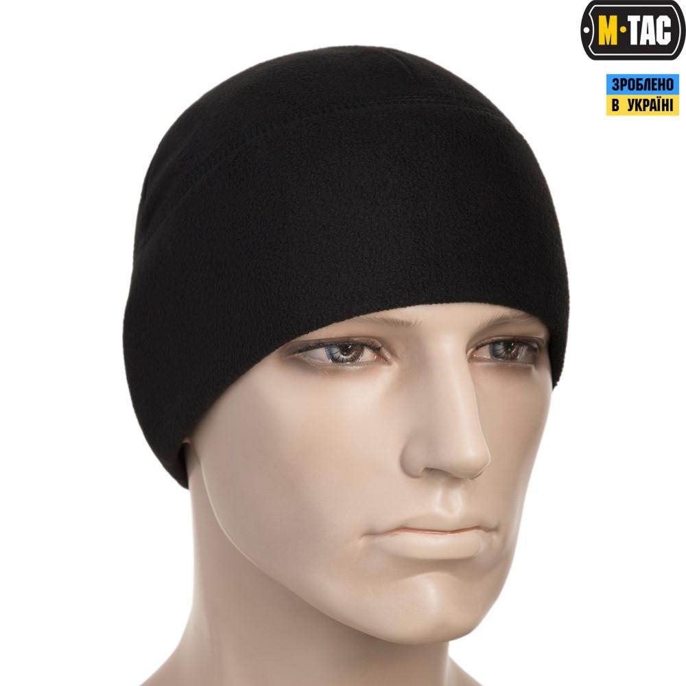 M-TAC ШАПКА WATCH CAP ELITE ФЛИС (260Г/М2) BLACK (40002002)