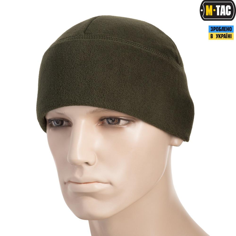 M-TAC ШАПКА WATCH CAP ФЛИС (330Г/М2) ОЛИВА (40004001)
