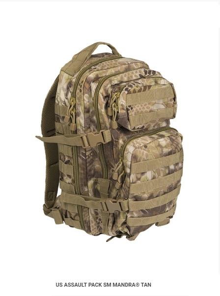 Рюкзак MIL-TEC  ASSAULT SMALL 20л   14002083 MANDRA® TAN