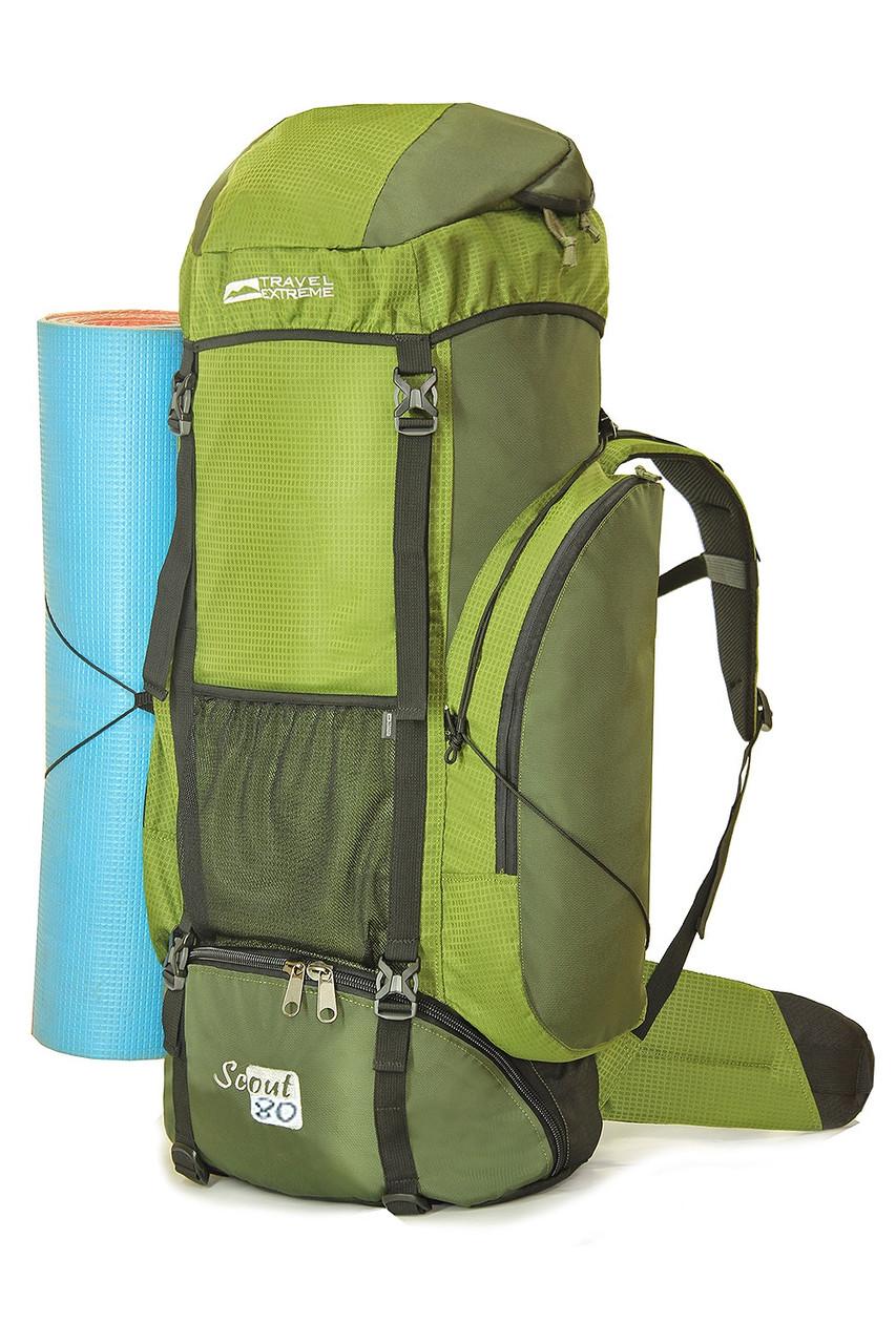 Рюкзак туристический Scout 80  (green)