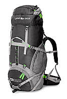 Рюкзак туристический Denali 55 ( black + green)