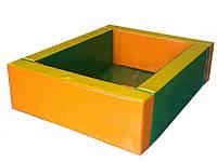 Сухой бассейн Прямоугольник  (150х120х40/10), фото 1