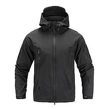 Куртка Soft Shell JEMEHORN TACTICAL GEAR черная