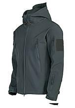 Куртка Soft Shell  3 SWORDS серая