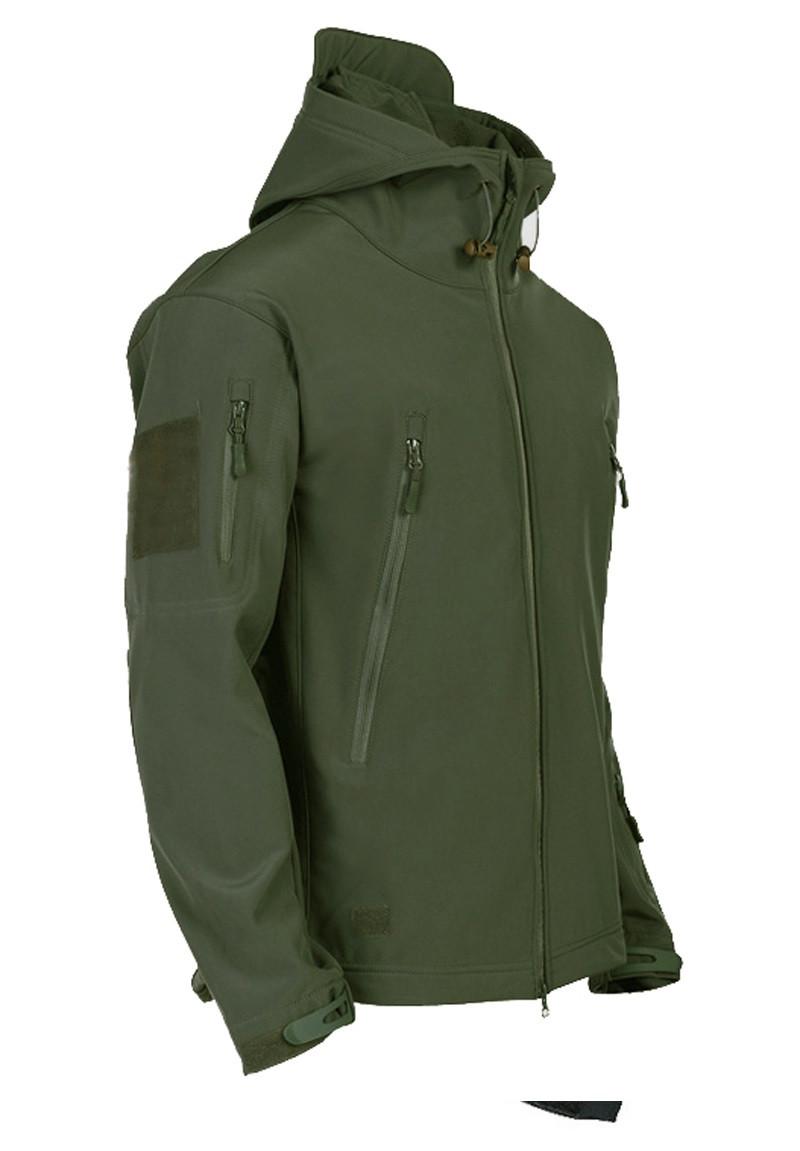 Куртка Soft Shell  3 SWORDS ХАКИ