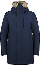 Куртка утепленная мужская Merrell длинная прямая на молнии
