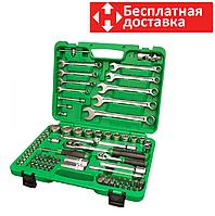 Набор инструментов 82 предмета, 1/4-1/2 дюйма, 6 граней, Toptul GCAI8201