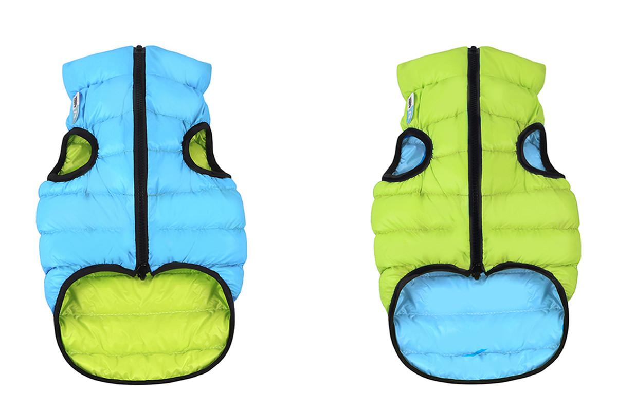 Куртка Airy Vest М 40 жилет салатово-блакитний одяг для собак