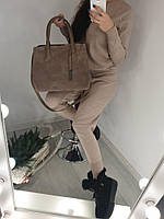 Красивая женская сумочка Натуральная замша и эко кожа В наличии 6 цветов