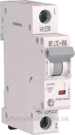Автоматический выключатель Eaton (Moeller) HL 4,5kA х-ка C 1P 20А (194732), фото 2