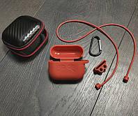 Силиконовый чехол для AirPods PRO, пять в одном. Красный, фото 1
