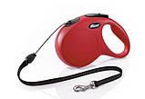 Поводок рулетка FLEXI Classic S для собак вагою до 12 кг, трос 8 метрів, фото 2
