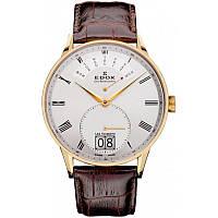 Мужские часы EDOX 34005 37JA AR Les Vauberts