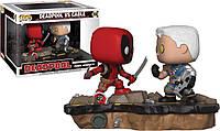 Фигурка Funko Pop Marvel Comic Moments Deadpool vs Cable Vinyl Figure Дэдпул против Кэйбла - 222423
