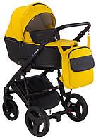 Детская коляска универсальная 2 в 1 Bair Mirello кожа 100% M-40/30 (Беир Мирелло)
