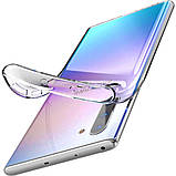 TPU чехол Epic Premium Transparent для Samsung Galaxy Note 10, фото 4