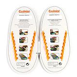 Силиконовые шнурки Coolnice В01 Orange (n-319), фото 2