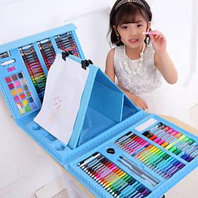 Набір для малювання з мольбертом Just Amazing у валізці (208 предметів) Синій