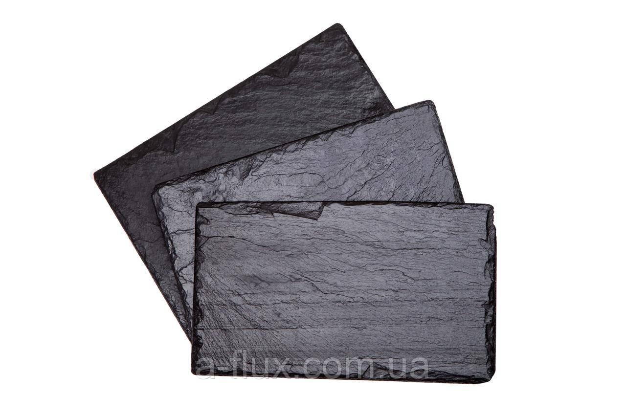 Поднос (сланец) из натурального камня прямоугольный 50*25см 500/250