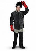 Костюм рабочий брезентовый со спилком (Куртка + штаны)