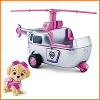 """Игрушечная фигурка """"Спасатель Скай и ее вертолет"""" Щенячий патруль / Paw Patrol Spin Master"""