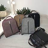 Замшевая сумка рюкзак женская Турция Разные цвета, фото 5