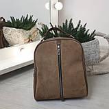 Замшевая сумка рюкзак женская Турция Разные цвета, фото 6