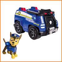 """Игрушечная фигурка """"Гонщик Чейз и его полицейская машина"""" Щенячий патруль / Paw Patrol Spin Master"""
