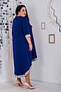 Асимметричное платье большого размера с вставками пайетки 10ba471, фото 4