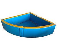 Сухой бассейн Уголок  (200х200х50/15), фото 1