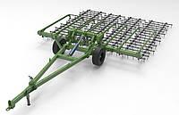 Борона шлейфовая Green Way 5,3 м трансформер