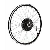 Заспицованное мотор-колесо MXUS ZWG XF15C 36В 400Вт редукторное, заднее, фото 1