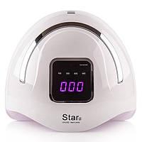 Лампа для маникюра LED+UV STAR 2  Silver, 72 Вт
