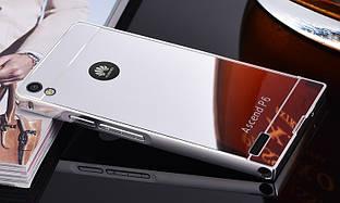 Чехол бампер для Huawei Nova Lite зеркальный
