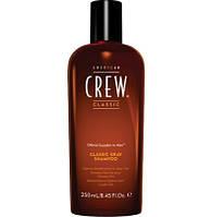 Шампунь American Crew для седых волос классический Classic Gray Shampoo 250мл. (738678246306)