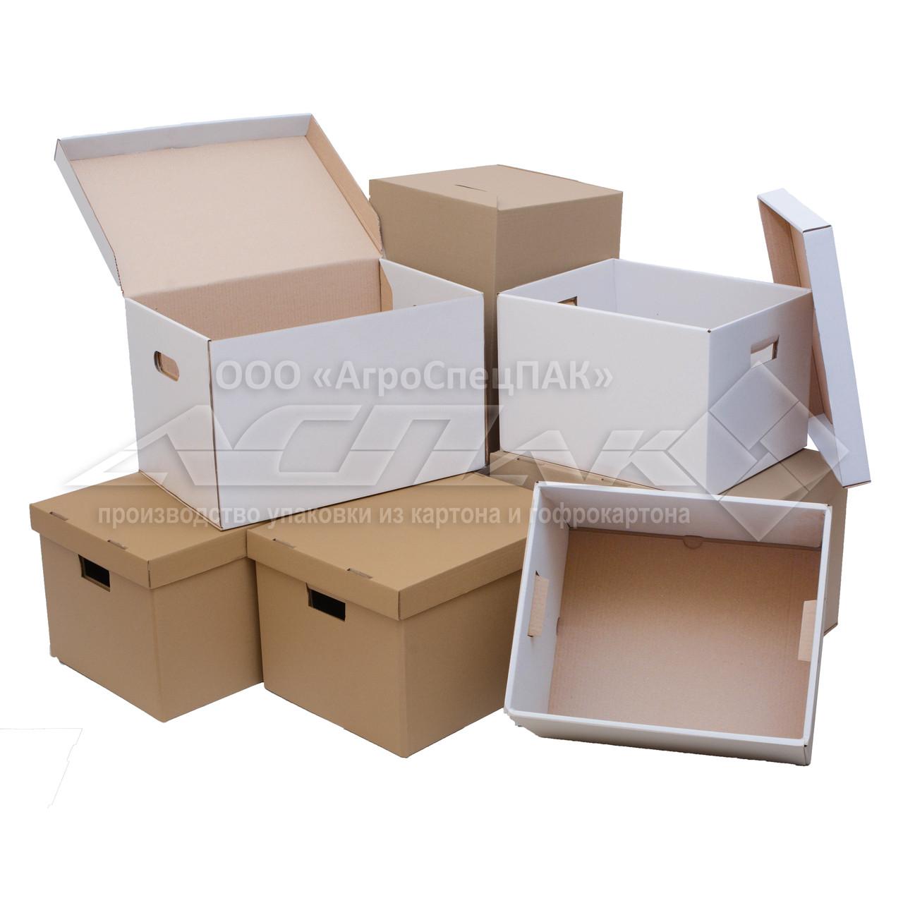 Коробки для документов. Архивные коробки. Архивные короба. Архивные боксы. В ассортименте.
