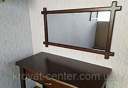 """Зеркало в деревянной рамке для прихожей """"Жаклин - 2"""", фото 3"""