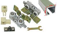Раздвижная система для межкомнатных дверей EKF 120055 (120кг) с профилем 2м