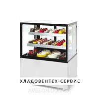 Витрина холодильная с двумя полками, 300 л, 915x675x(H)1210 мм