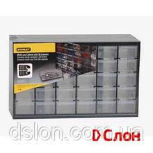 Органайзер вертикальный STANLEY 1-93-980 c 30-тью выдвижными отделениями, пластмассовый, 365х155х225мм.