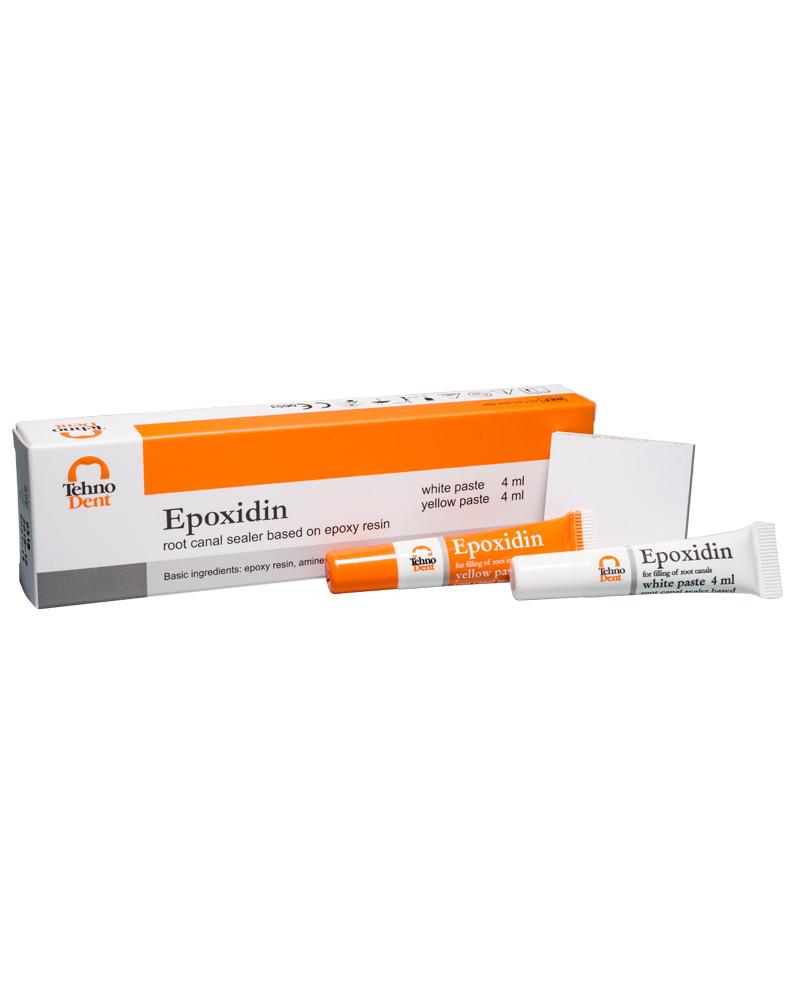 Epoxidin  Эпоксидин паста для пломбирования корневых каналов ,2х4 мл, TehnoDent (ТехноДент)