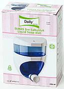 Дозатор для жидкого мыла прозрачный Dolly 0.65л.