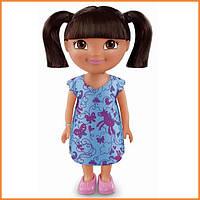 Кукла Даша Путешественница в голубом платье / Dora the Explorer Fisher Price