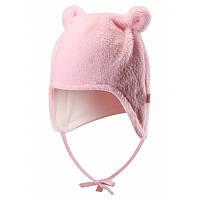 Светло-розовая шапка для новорожденных Leo размеры 34/36;38/40;42/44 весна;осень;зима;деми девочка TM Reima 518419-4010